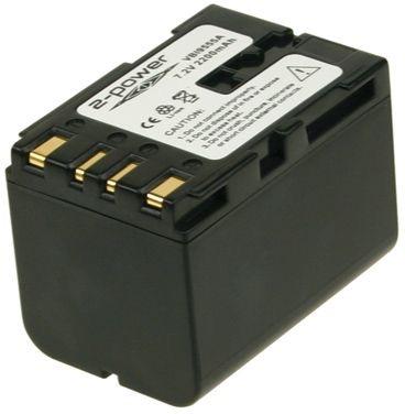 Image of   2-Power Kamerabatteri JVC BN-V416U (Kompatibelt)