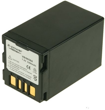 Image of   2-Power Kamerabatteri til JVC GR-D271U