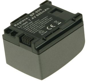 Billede af 2-Power batteri BP-809 til til Canon Kamera (Kompatibelt)