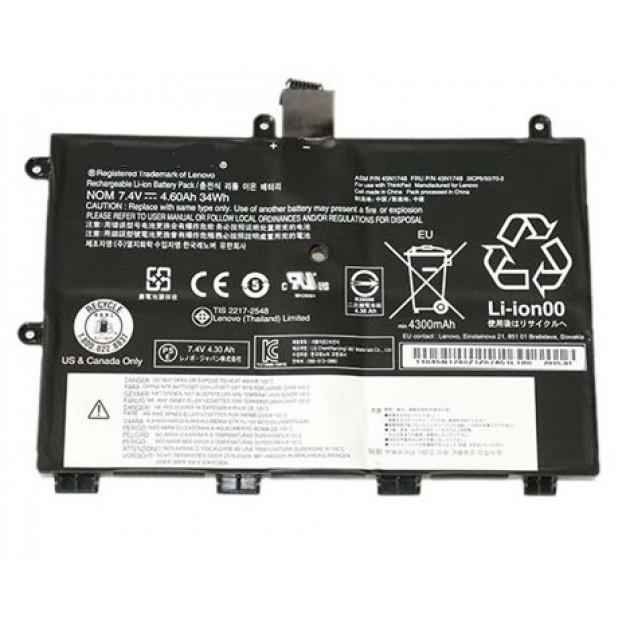 Image of Lenovo batteri til bl.a. Thinkpad 11e Chromebook (Originalt) 4300mAh