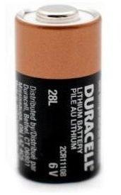 Billede af Duracell 28L / 4LR44 6 Volt Lithium batteri