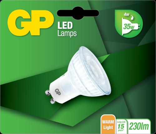 Billede af LED GU10, 4W (35W)