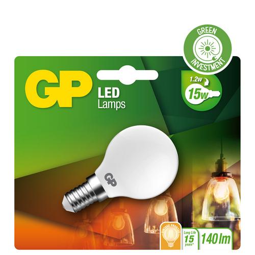 "Billede af Mini Globe Filament LED, 1,2W (15W), E14 ""glødetråd"""