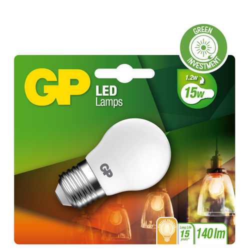 "Billede af Mini Globe Filament LED, 1,2W (15W), E27 ""glødetråd"""