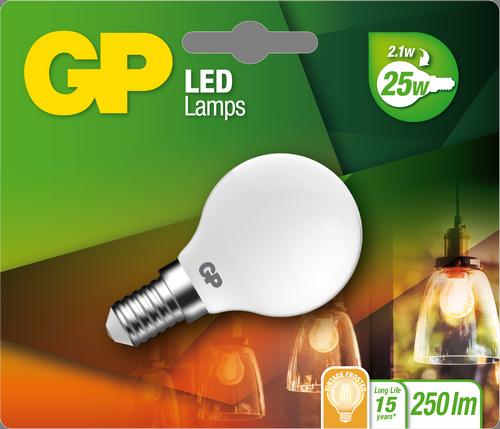 "Billede af Mini Globe Filament LED, 2W (25W), E14 ""glødetråd"""