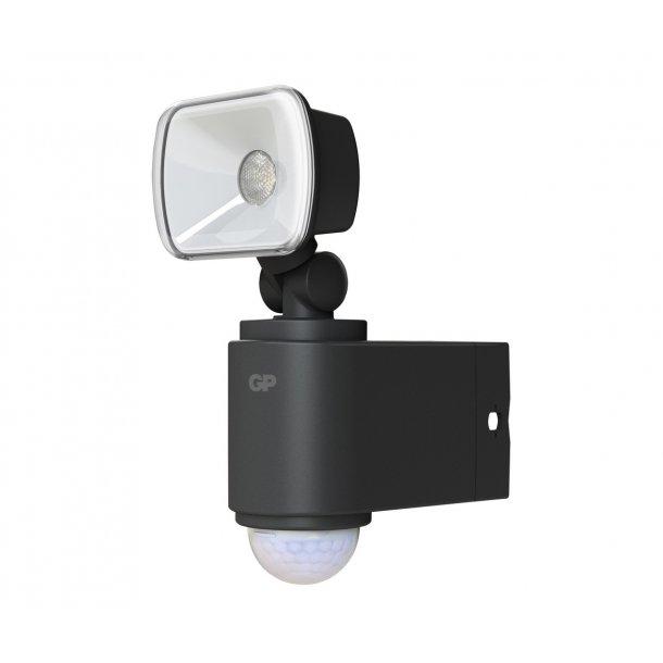 GP Safeguard RF1.1. Kraftig ledningsfri udendørs sensorlampe, Fri fragt