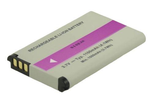Image of   2-Power Kamerabatteri Camileo B10 (Kompatibelt)
