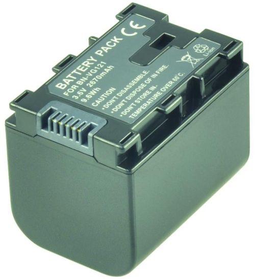 Image of   2-Power Kamerabatteri JVC BN-VG121U (Kompatibelt)