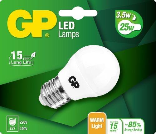 Billede af Mini Globe LED pære, 3,5W (25W), E27