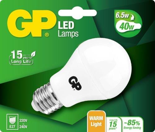 Billede af Classic LED pære, 6,5W (40W), E27