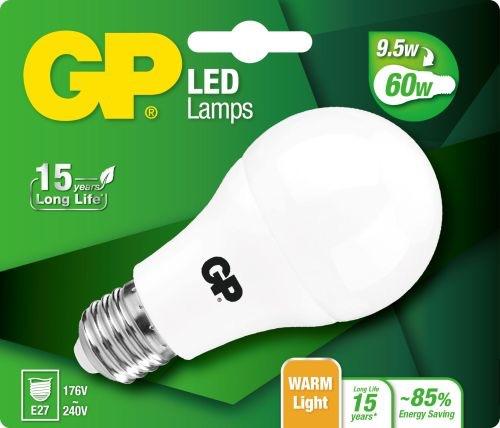Billede af Classic LED pære, 9,5W (60W), E27