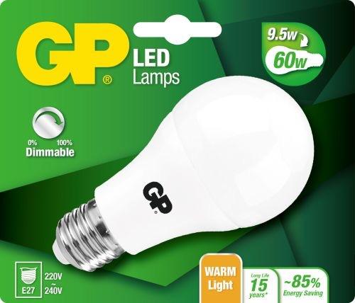 Billede af Classic LED pære, 9,5W (60W), E27, Dæmpbar