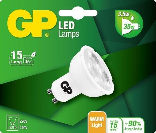 Billede af Reflector LED pære, 3,5W (35W), GU10