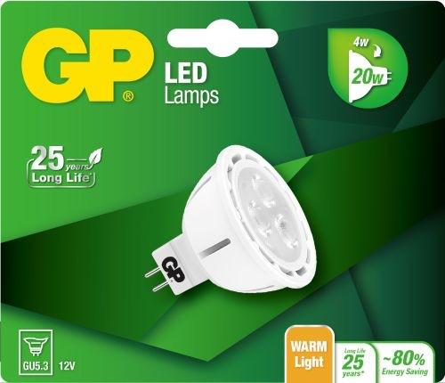 Billede af Reflector LED pære, 4W (20W), GU5.3