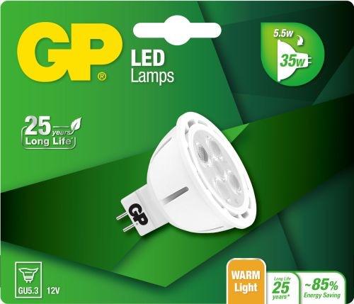 Billede af Reflector LED pære, 5,5W (35W), GU5.3
