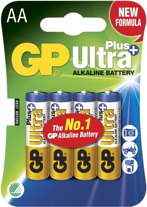 Billede af GP AA Ultra Plus batterier / LR6 / R6