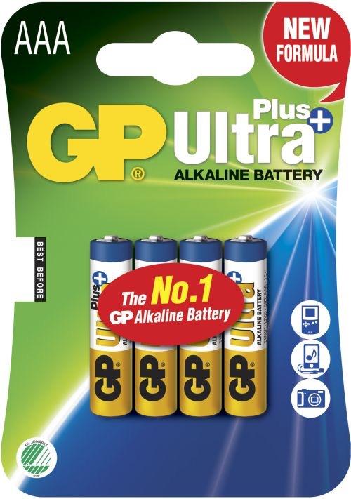 Billede af GP AAA Ultra Plus batterier / LR03 / LR3