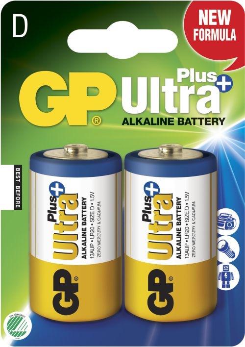 Billede af GP D Ultra Plus batterier / LR20