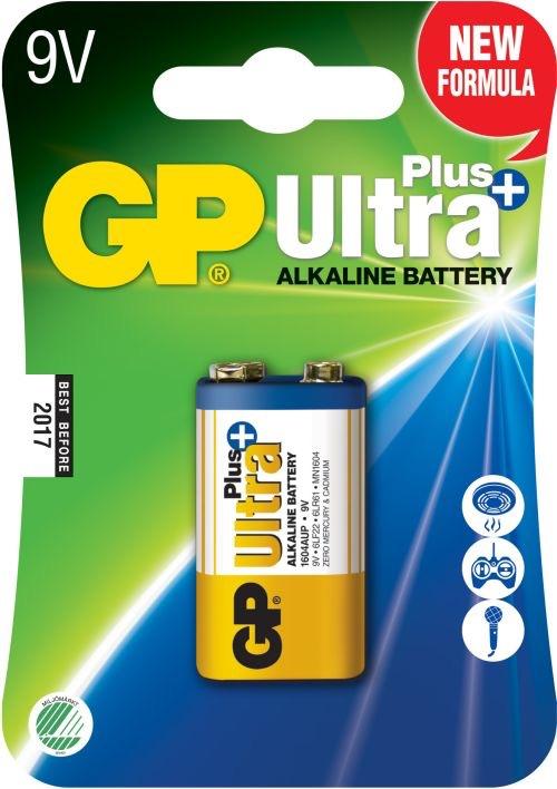 Billede af GP 9 V Ultra Plus batteri