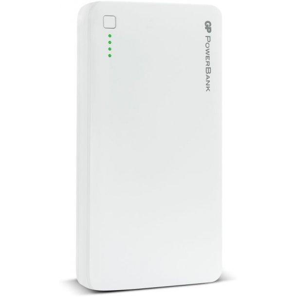 GP PowerBank - 20.000mAh Hvid - TESTVINDER