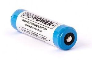 Billede af Enerpower 18650 batteri Li-ion 3400mAh.
