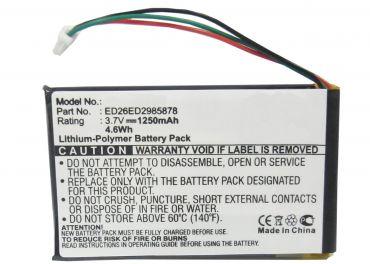 Batteri til Garmin Nuvi 285
