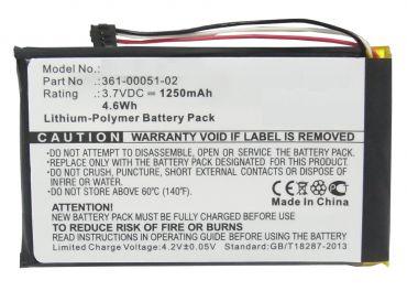 Batteri til Garmin Dezl 560LMT