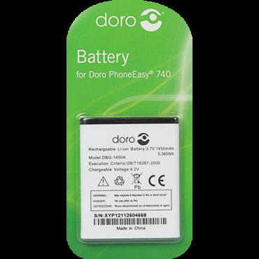 Billede af DBG-1450A Batteri til bl.a. Doro PhoneEasy 740 (Originalt)