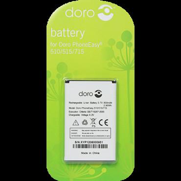Billede af Batteri til bl.a. DORO PhoneEasy 500 / 506 / 508 / 509 / 510 / 715 (Originalt)