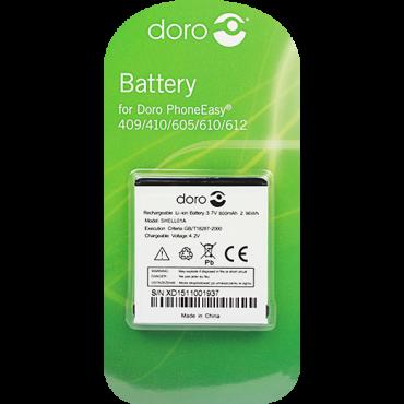 Billede af Doro batteri til bl.a. PhoneEasy 409 / 410 / 605 / 610 / 612 (Original)