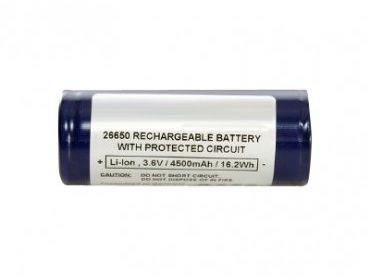 Billede af EnerPower 26650 batteri Li-ion 4800mAh.