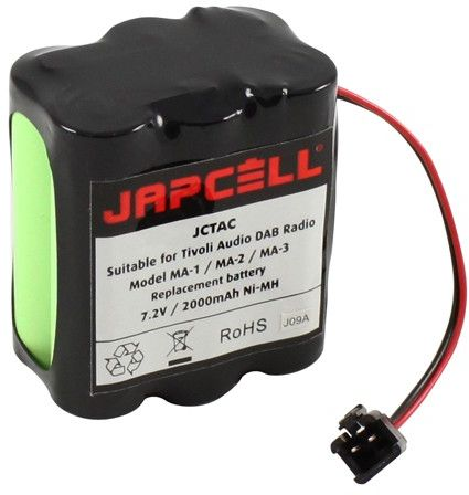 Billede af Tivoli Audio batteri 7,2V / 2000mAh