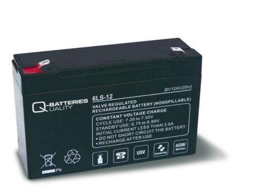Billede af 6 volt 12Ah. bly batteri