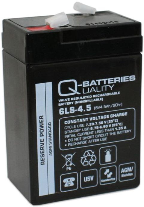 Billede af 6 volt 4,5 Ah. bly batteri