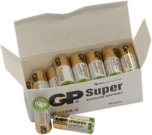 20 stk. GP N Super Alkaline batterier / LR1