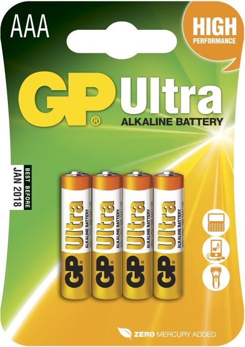 GP AAA Ultra batterier / LR03