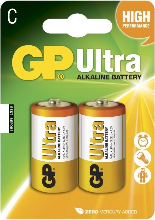 GP C Ultra batterier / LR14