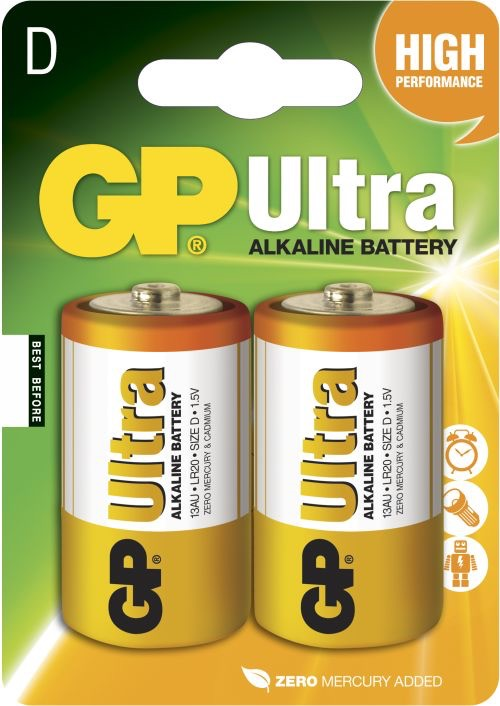 GP D Ultra batterier / LR20