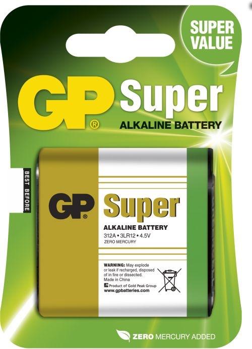 Billede af GP 4.5V Alkaline batteri / 3LR12
