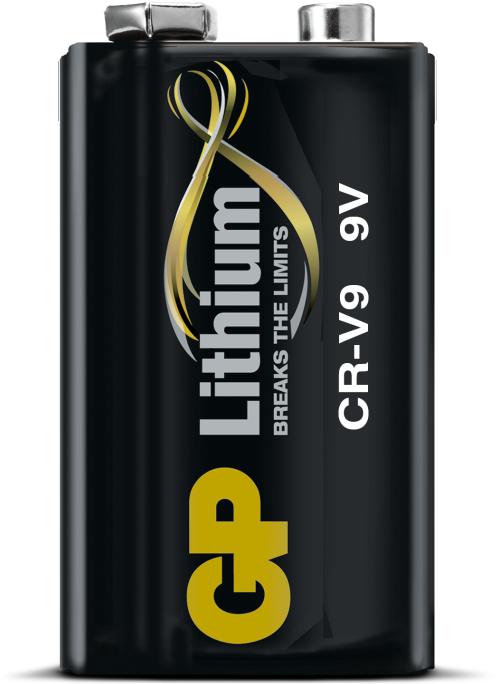 GP 9V lithium batteri