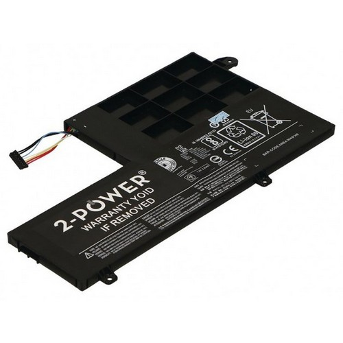 Image of   2-Power batteri til Lenovo Yoga 500 / L14M2P21 (Kompatibelt) - 4050mAh