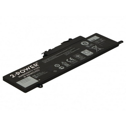 Image of   2-Power batteri til bl.a. Dell Inspiron 11 3147 - 3800mAh