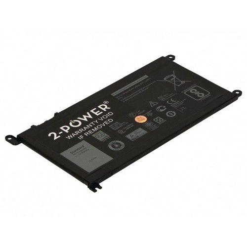 Image of   2-Power batteri til bl.a. Dell Inspiron 13 5378 2-In-1 - 3500mAh