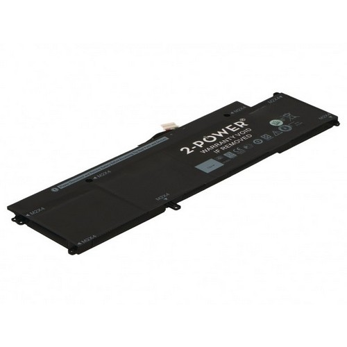 Image of   2-Power batteri til bl.a. Dell Latitude 7370 - 5831mAh
