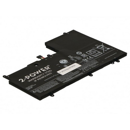 Image of   2-Power batteri til bl.a. Lenovo ThinkPad Yoga 3 14 - 6000mAh