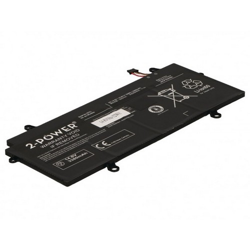 Image of   2-Power batteri til bl.a. Toshiba Portege Z30-C - 3380mAh