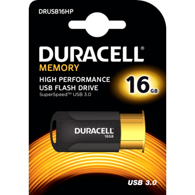 Image of   Duracell USB stik 16GB