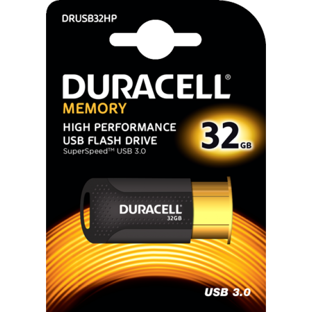 Image of   Duracell USB stik 32GB