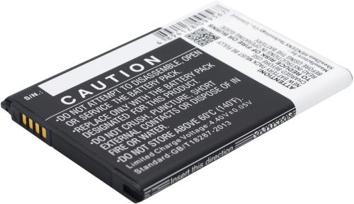 Smartphone Battery 3.85V 3000mAh