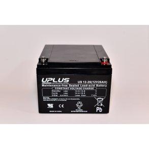 Välkända 12V blybatteri. Stort udvalg og billige priser | Gratis Fragt YS-06